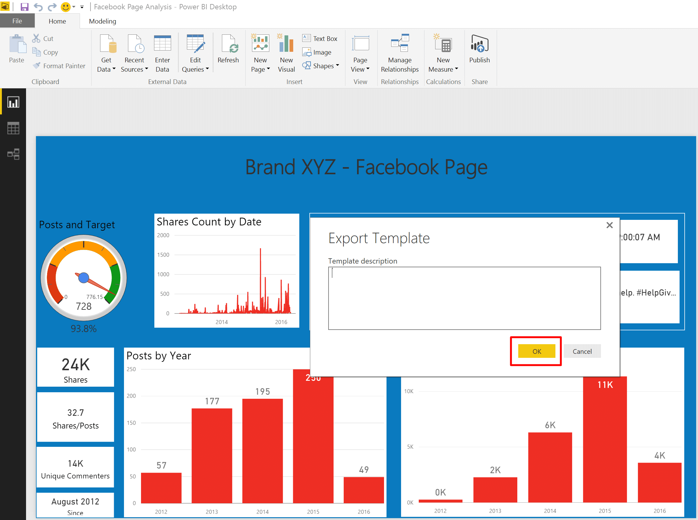 Power BI Templates - DataChant