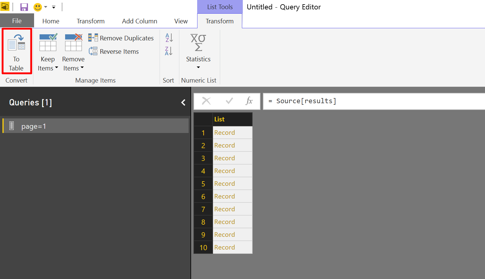 Query Functions in Power BI are made easier