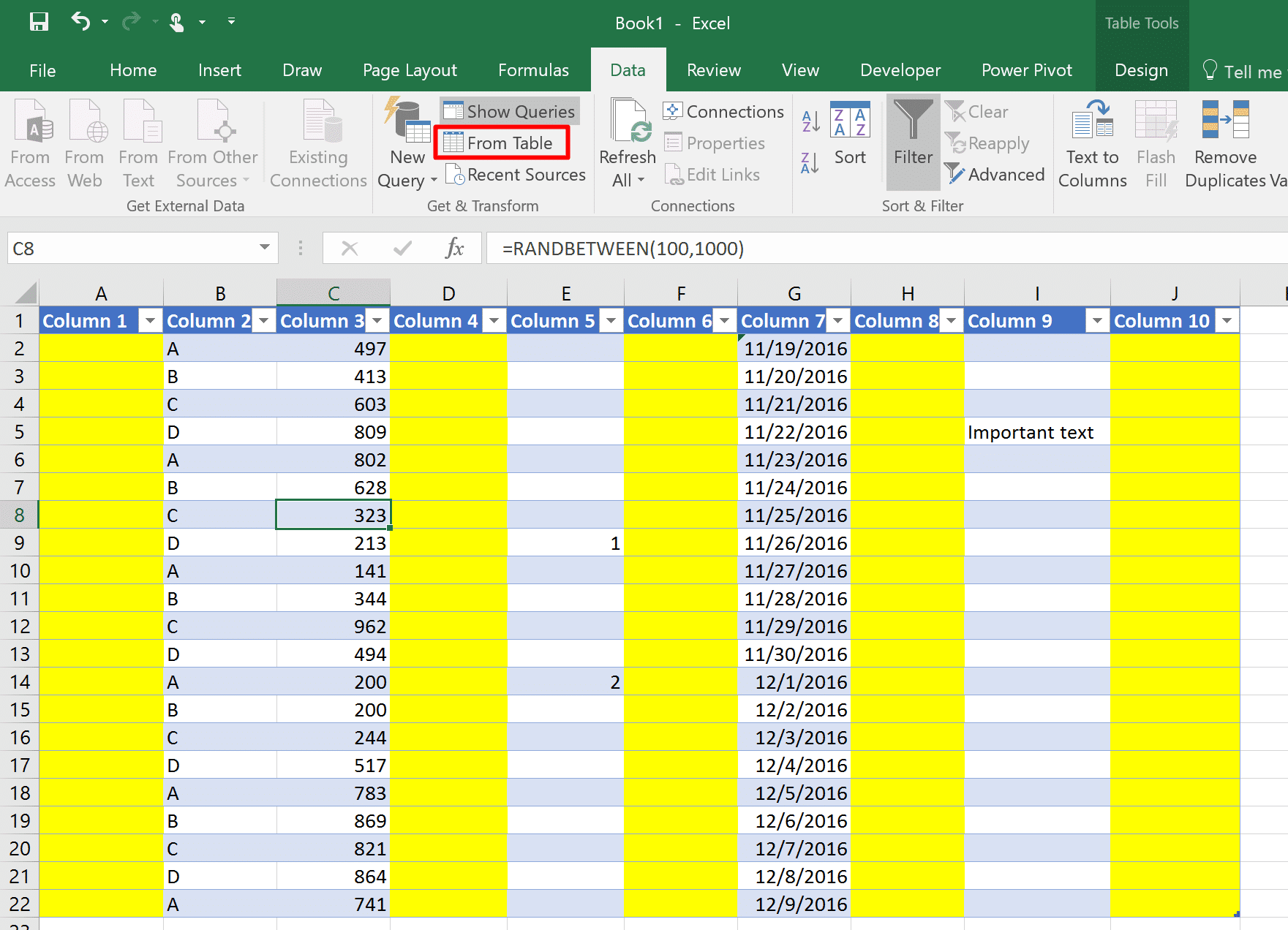 how to add columns in excel formula
