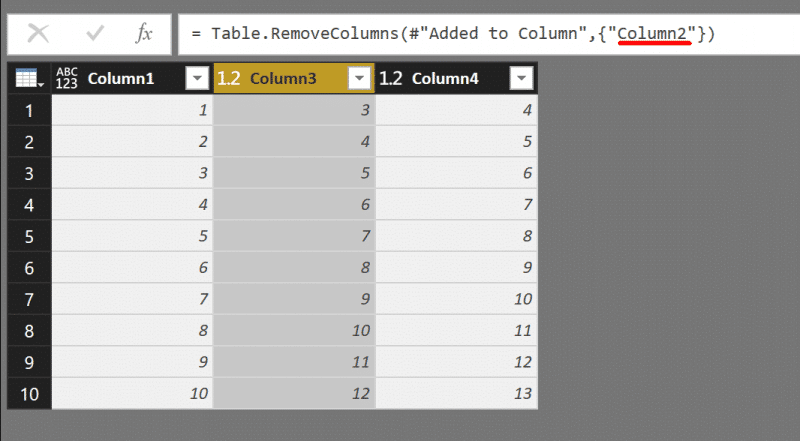 Removing columns in Power BI or Power Query in Excel can weaken the query - Pitfall 5