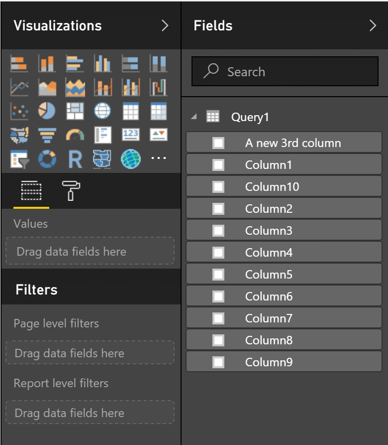 Pitfall 3 - Column reordering in Power BI