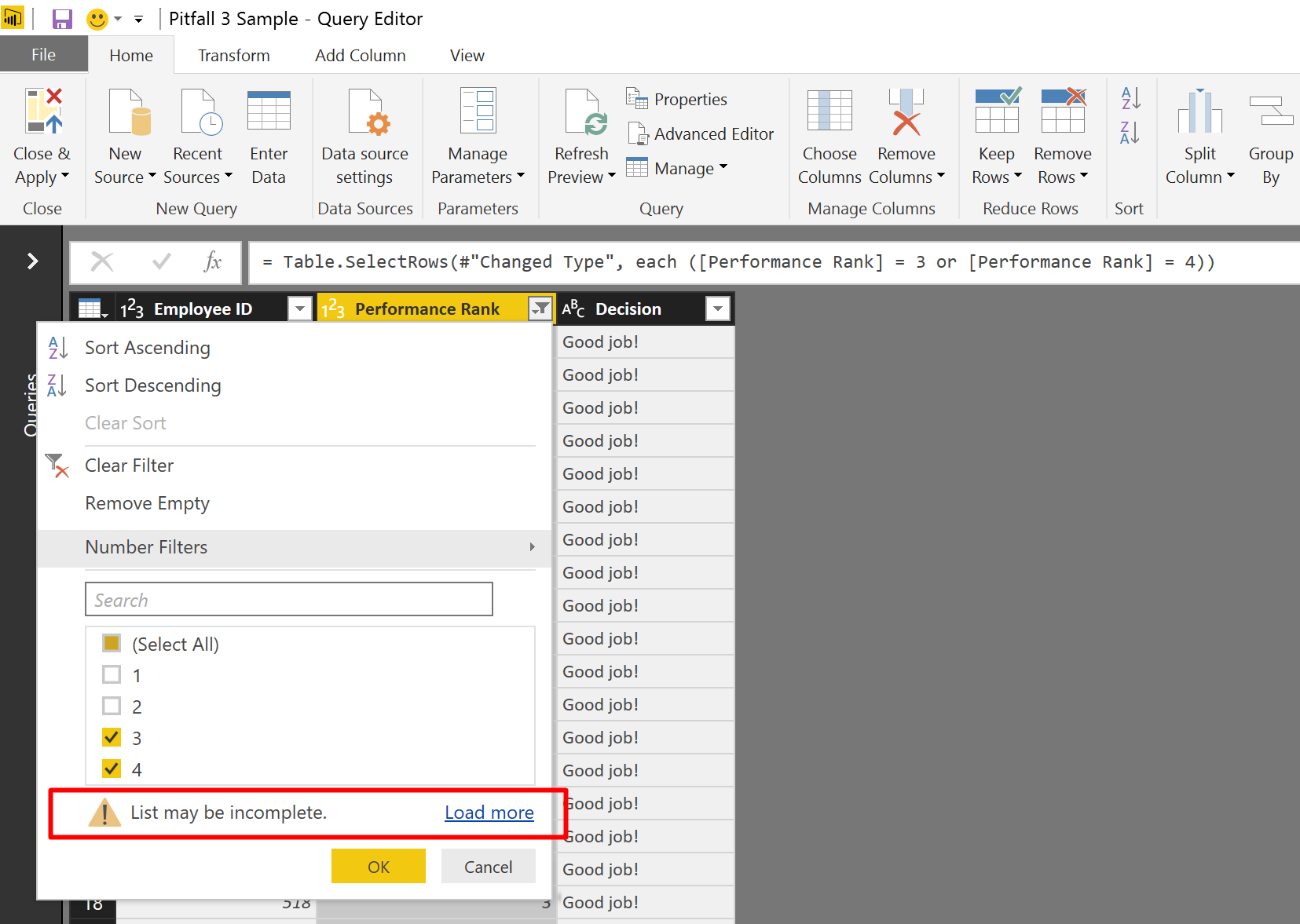 10 common mistakes you do in #PowerBI #PowerQuery – Pitfall