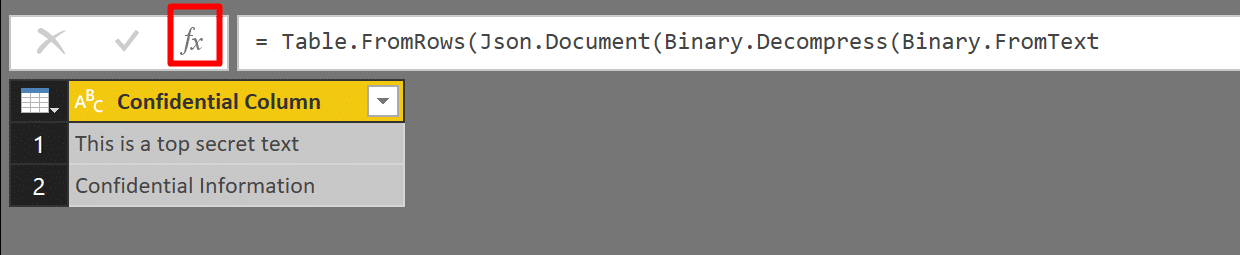Text Obfuscation in Power BI and Power Query in Excel