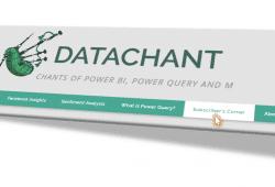 DataChant Subscriber's Corner