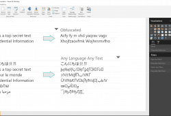 Text Obfuscation in Power BI