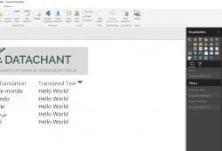 Text Translator API in Power BI