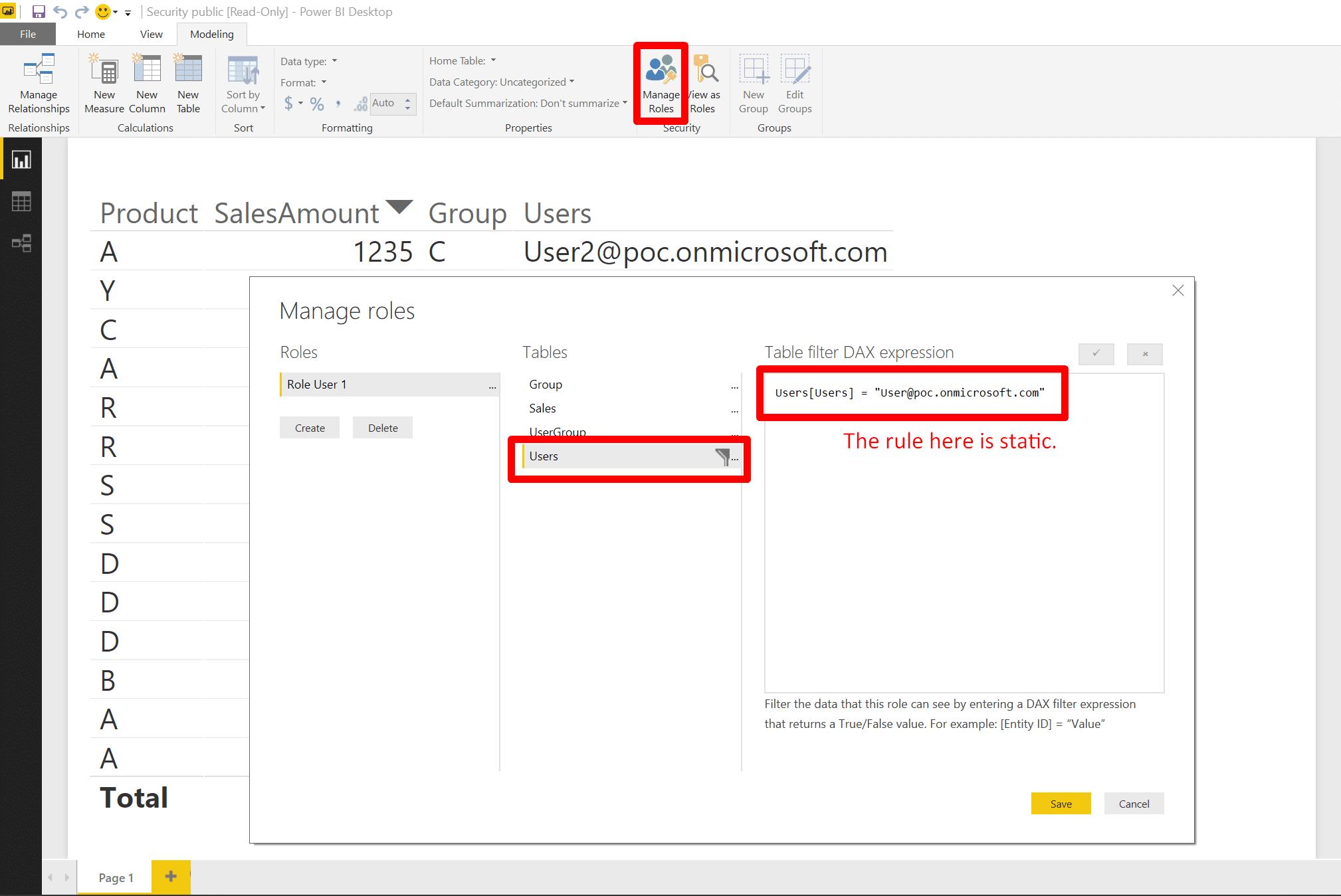 Power bi text filter