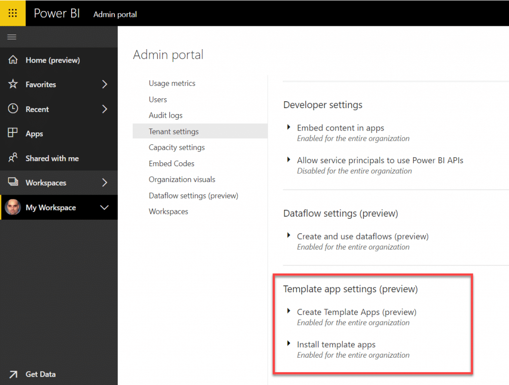 The new Template Apps in Power BI - DataChant
