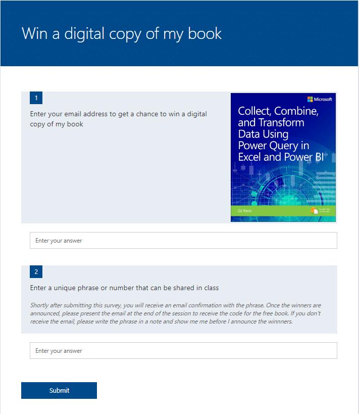 Be a Power Platform Jedi - How to run a book raffle - DataChant