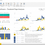 Facebook Power BI Dashboard - Two Pages
