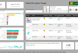 Power BI Custom Visuals